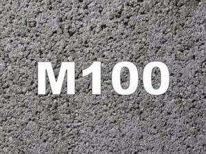 beton M100